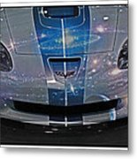 Corvette Is Out Of This World Metal Print
