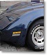 Corvette Metal Print by Jackie Bodnar