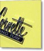 Corvette Stingray Metal Print
