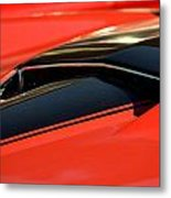Corvette Torch Metal Print