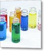 Cosmetics Manufacturer Metal Print