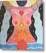 Cosmic Carnival I V Aka Creation Metal Print