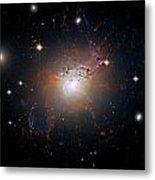 Cosmic Fireworks Metal Print