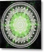 Cosmic Medallians Rgb 1 Metal Print
