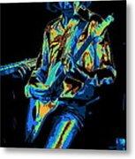 Cosmic Mick Of Bad Company In 1977 Metal Print