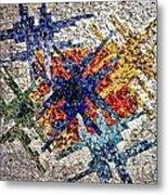 Cosmic Mosaic Metal Print