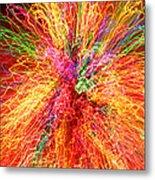 Cosmic Phenomenon Or Christmas Lights Metal Print