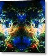 Cosmic Reflection 2 Metal Print