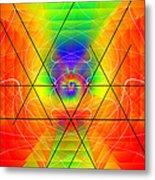 Cosmic Spiral Ascension 01 Metal Print