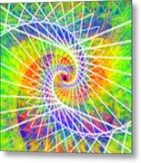 Cosmic Spiral Ascension 03 Metal Print