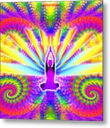 Cosmic Spiral Ascension 09 Metal Print