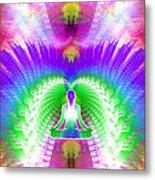 Cosmic Spiral Ascension 13 Metal Print
