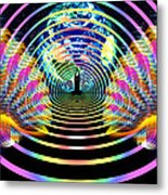 Cosmic Spiral Ascension 16 Metal Print