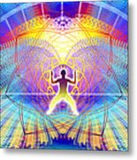 Cosmic Spiral Ascension 20 Metal Print