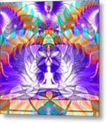 Cosmic Spiral Ascension 61 Metal Print