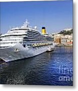 Costa Cruise Ship Metal Print