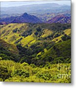 Costa Rica Mountains Metal Print