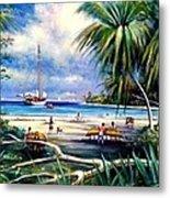 Costa Rica Sailing Metal Print