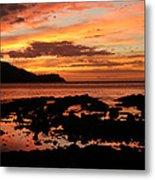 Costa Rica Sunset Metal Print