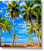 Costa Rican Paradise Metal Print