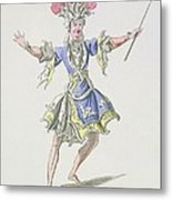 Costume Design For The Magician Metal Print