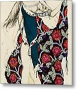 Costume Design Metal Print