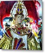 Costumed Man Tenerife Metal Print