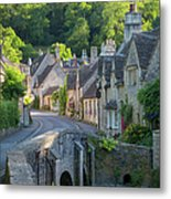 Cotswolds Morning Metal Print