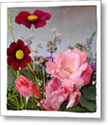 Cottage Garden Metal Print by Tanya Jacobson-Smith