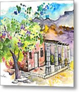 Cottage In Barca De Alva Metal Print