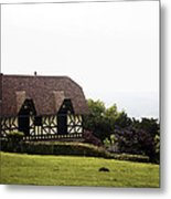Cottage In Normandy Metal Print
