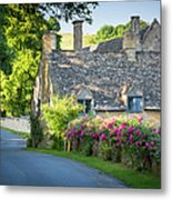 Cottage In The Cotswolds Metal Print