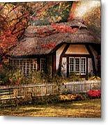 Cottage - Nana's House Metal Print