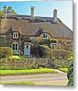 Cottage Of The Cotswolds Metal Print