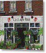 Cottage Rose Metal Print