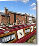 Cottages At Fradley Junction Metal Print