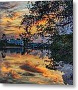 Cotton Bayou Sunrise Metal Print