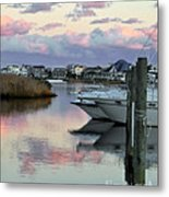 Cotton Candy Clouds Two Metal Print
