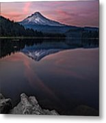 Cotton Candy Skies Metal Print