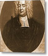 Cotton Mather 1728 Metal Print