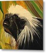 Cotton Top Tamarin Zack Half Of All Proceeds Go To Jungle Friends Primate Sanctuary Metal Print