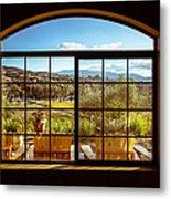 Cougar Winery View Metal Print