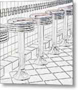 Counterseats-2 Metal Print
