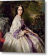 Countess Alexander Nikolaevitch Lamsdorff. Maria Ivanovna Beck Metal Print