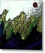 Country Abstract Metal Print