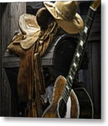 Country And Western Music Metal Print