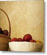 Country Apples Metal Print