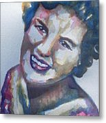 Country Artist Patsy Cline Metal Print