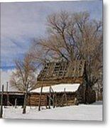 Country Barn Metal Print