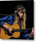 Country Blues Singer Rory Block In Concert Metal Print